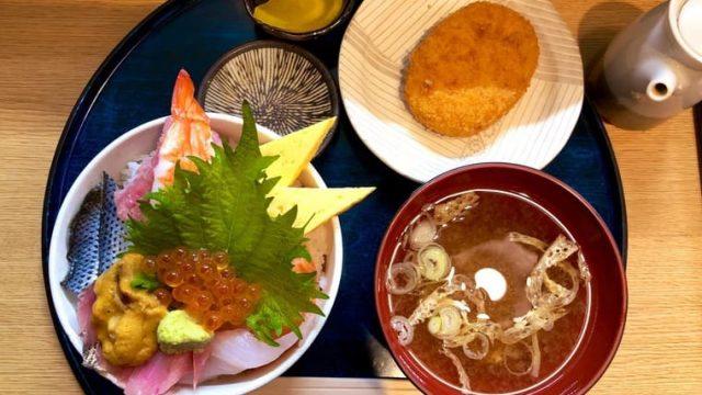 東家の海鮮丼