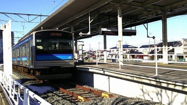 石巻駅に停車中の仙石線