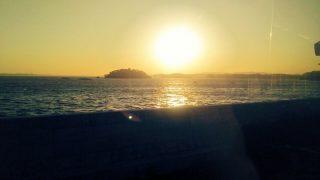 仙石線の沿線風景