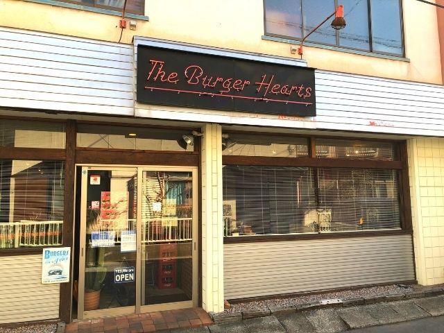 バーガーハーツの入口