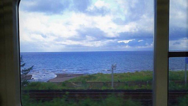 羽越本線の車窓