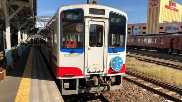 盛行きの三陸鉄道リアス線