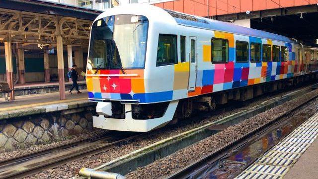 観光列車きらきらうえつで使用されている485系車両