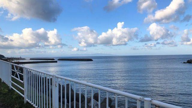 三厩駅近くの海岸