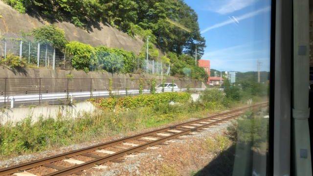 三陸鉄道リアス線の線路