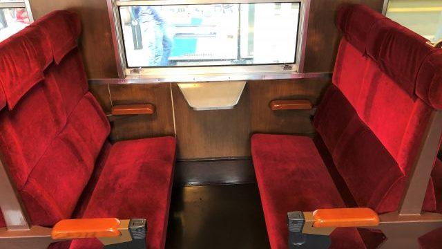 普通車指定席の座席