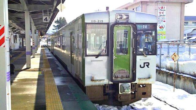 米坂線キハ110系