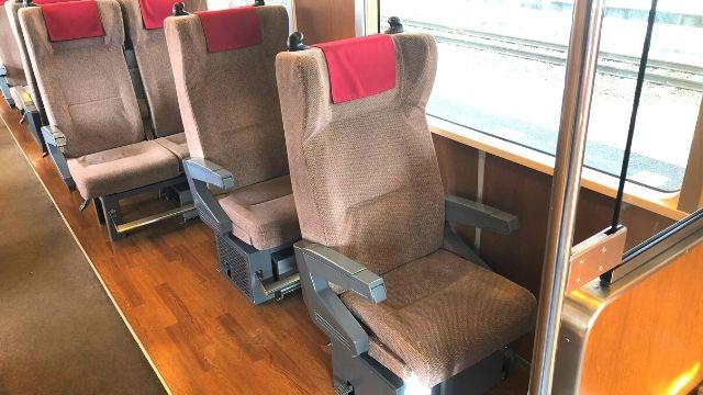 会津鉄道会津線の座席
