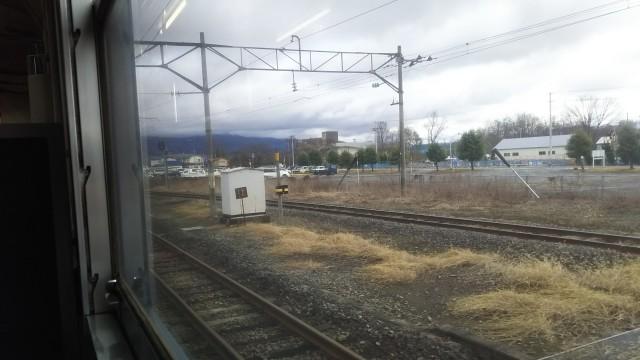 喜多方駅の電線