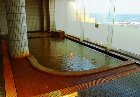 不老ふ死温泉の内風呂