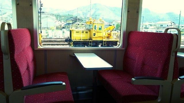 三陸鉄道リアス線の車内・座席