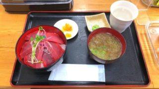 小松鮪専門店の赤身丼