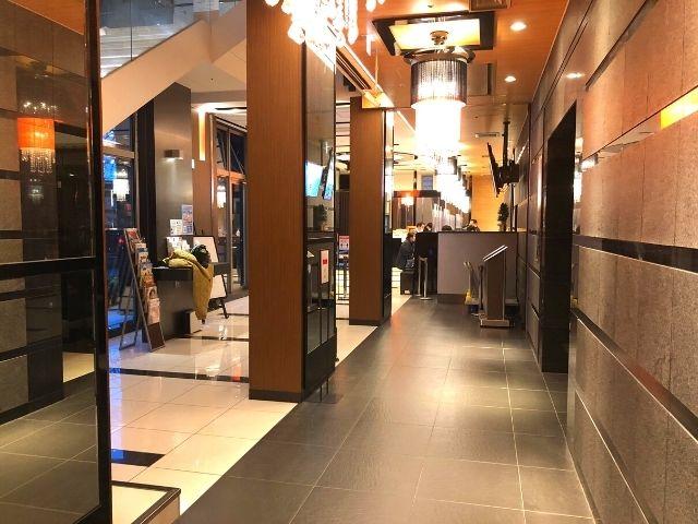 アパヴィラホテル仙台駅五橋のフロント