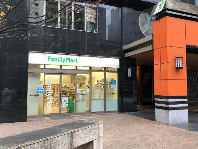 アパヴィラホテル仙台駅五橋の敷地内にあるファミリーマート
