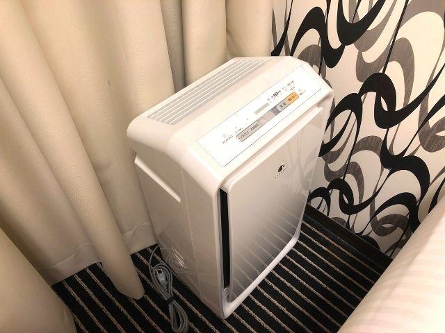 アパヴィラホテル仙台駅五橋の部屋内にある加湿器