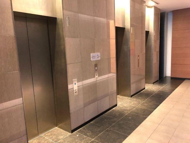 コンフォートホテル仙台西口のエレベーター