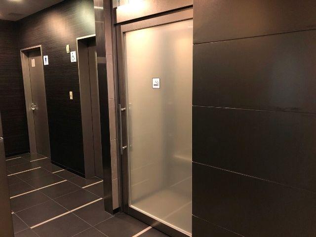 コンフォートホテル仙台西口の喫煙室