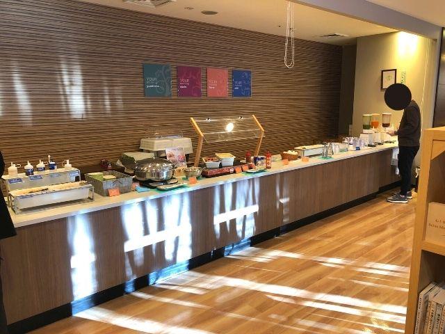 コンフォートホテル仙台西口の朝食会場