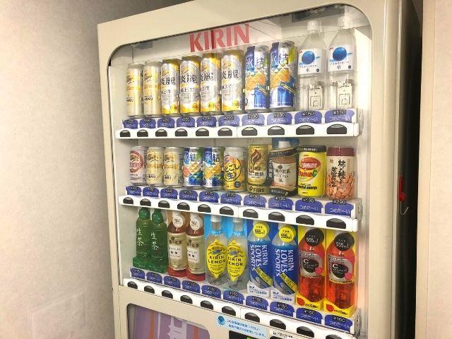 コンフォートホテル仙台西口の自販機