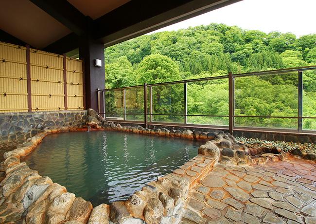 打当温泉マタギの湯の露天風呂