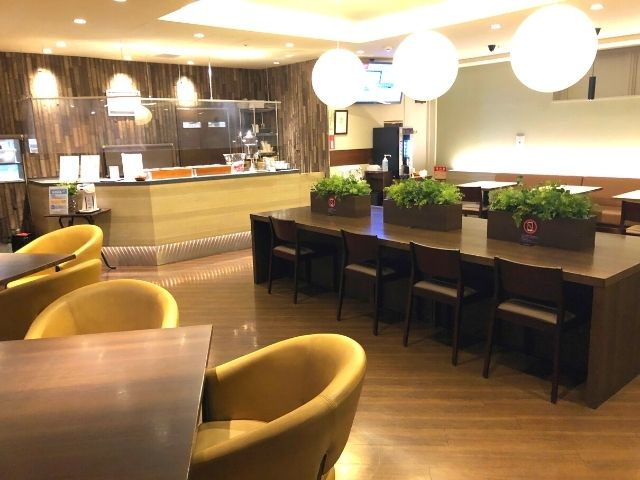天然温泉 青葉の湯 ドーミーイン仙台ANNEXのフロント隣のフリースペース