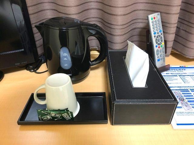 天然温泉 青葉の湯 ドーミーイン仙台ANNEXの客室内の設備