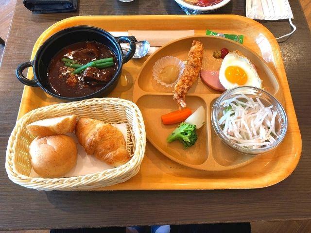 天然温泉 青葉の湯 ドーミーイン仙台ANNEXの朝食