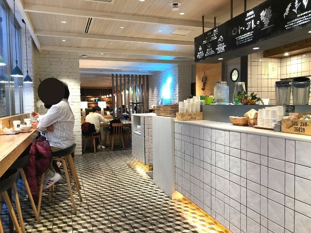 みのりカフェの店内