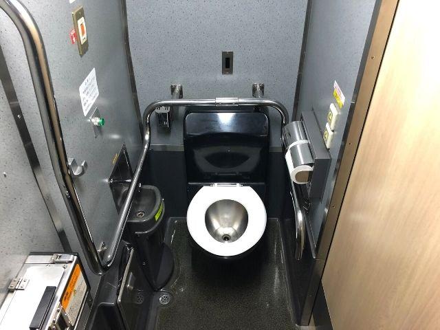 ジパング平泉のトイレ