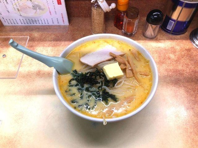 味の札幌大西の味噌カレー牛乳ラーメン