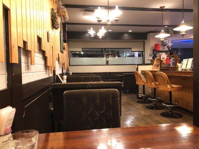 イマココカフェの店内