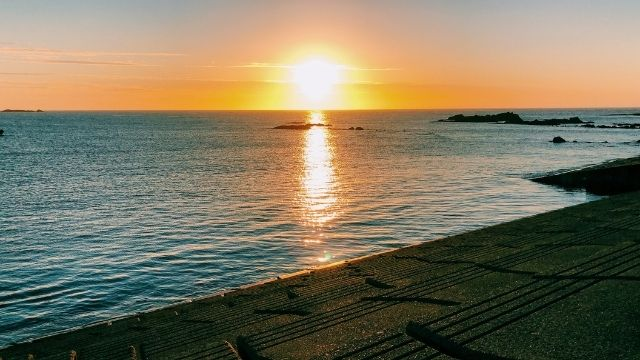 深浦の夕日