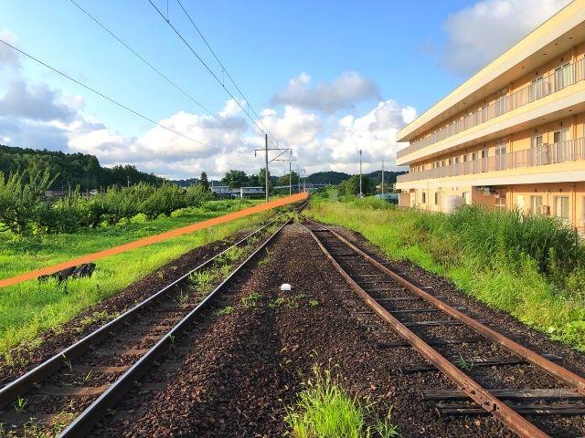 岡駅が交換可能駅になっていたら