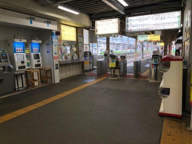 福島駅の阿武隈急行線、福島交通飯坂線改札口