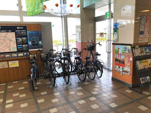 角田駅のレンタサイクル