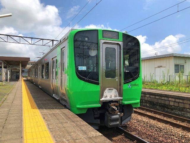 阿武隈急行線の新型車両AB900系