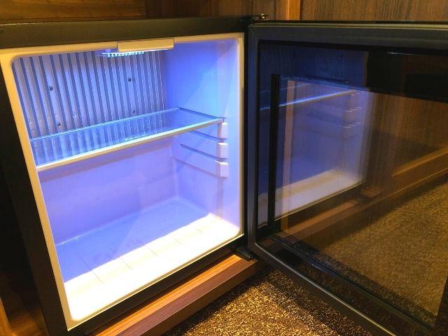 中身の見える冷蔵庫
